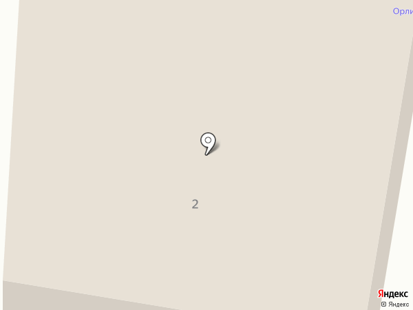 Орлиные Скалы на карте Лермонтова