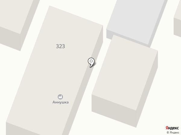 Аннушка на карте Пятигорска