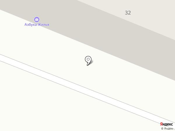 Рэт на карте Железноводска