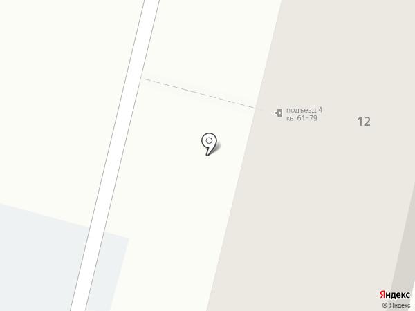 Строитель-3 на карте Пятигорска