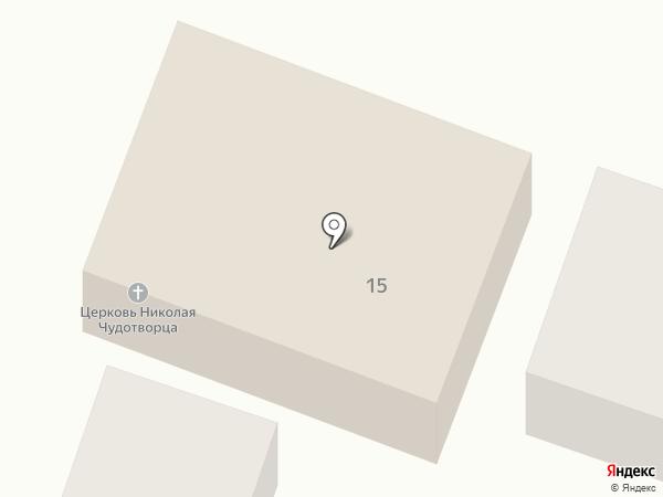 Храм святителя Николая Чудотворца на карте Пятигорска