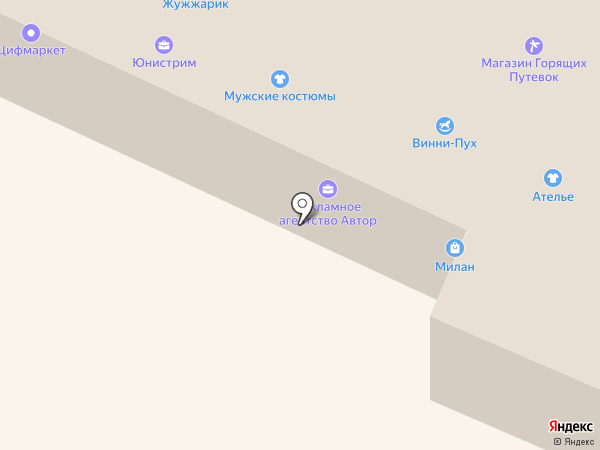 МТС на карте Железноводска