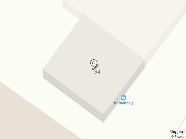 Очаг на карте Железноводска