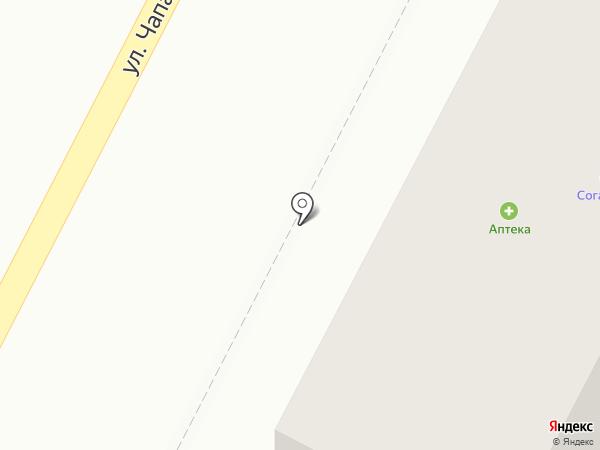 Милта на карте Железноводска
