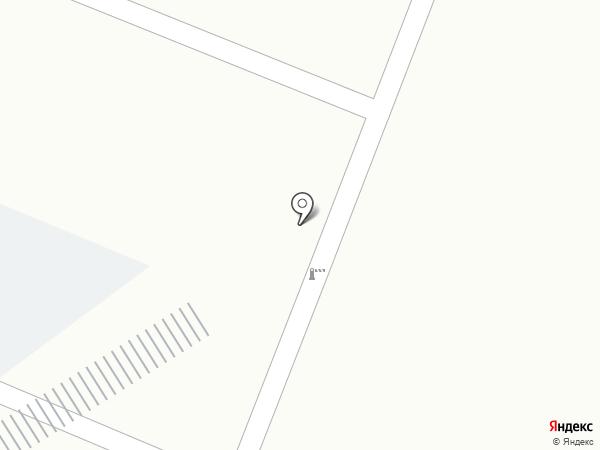 Авеню на карте Пятигорска