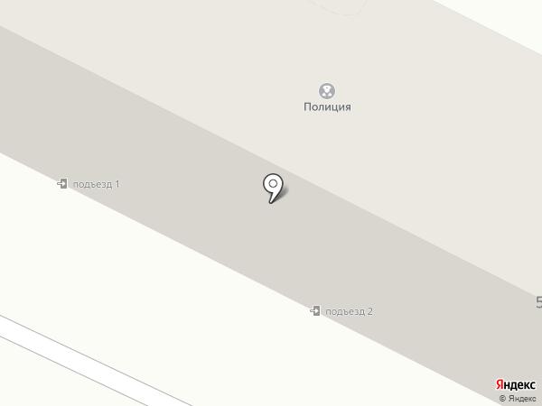 Железноводский отдел на карте Железноводска