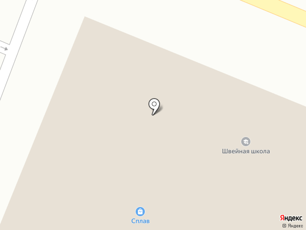 Максим на карте Пятигорска