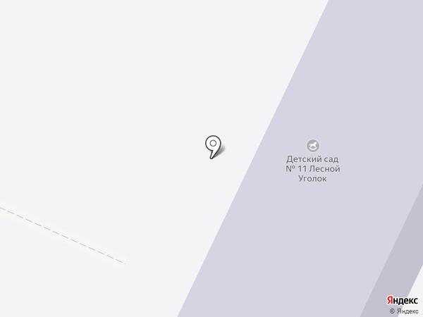 Детский сад №11 на карте Железноводска