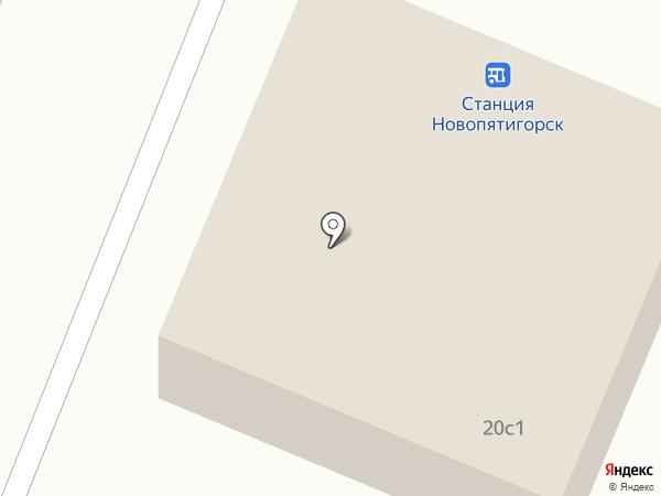 Silvia на карте Пятигорска