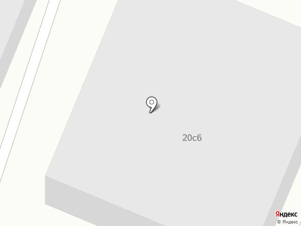 Портос на карте Пятигорска
