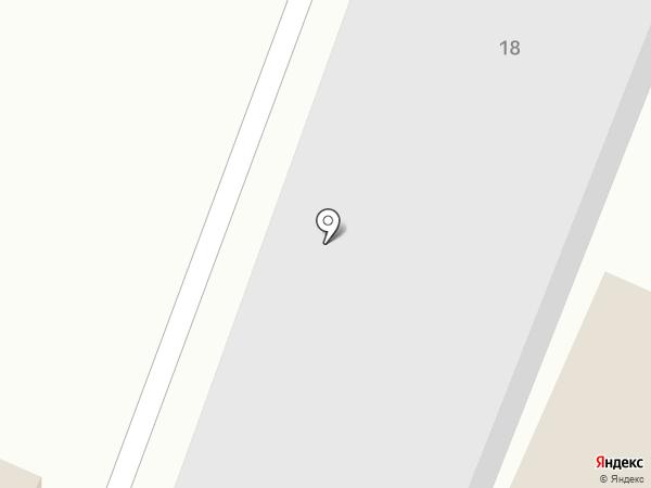 Универсал-98 на карте Пятигорска