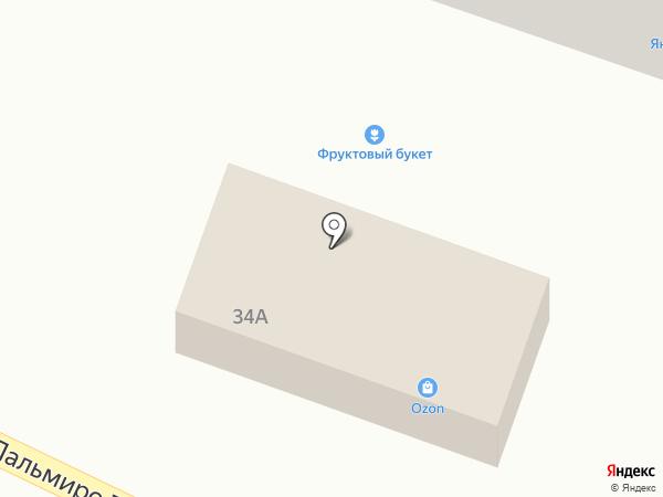 Альбертофф на карте Пятигорска