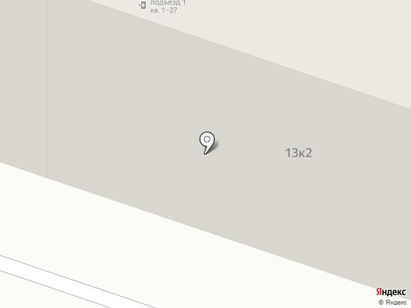 Березовый на карте Пятигорска