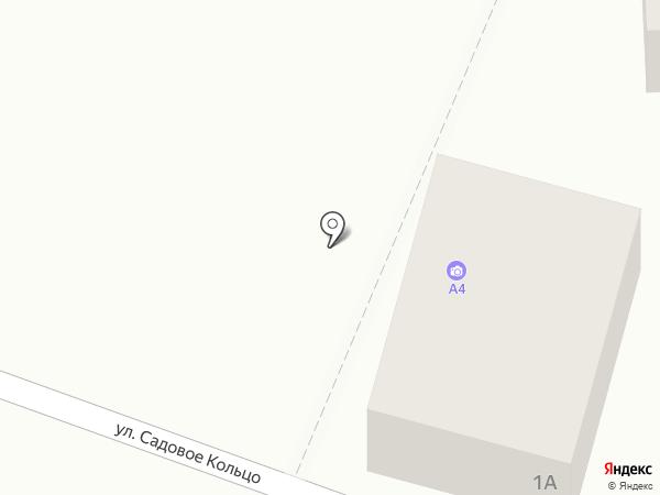 А4 на карте Пятигорска