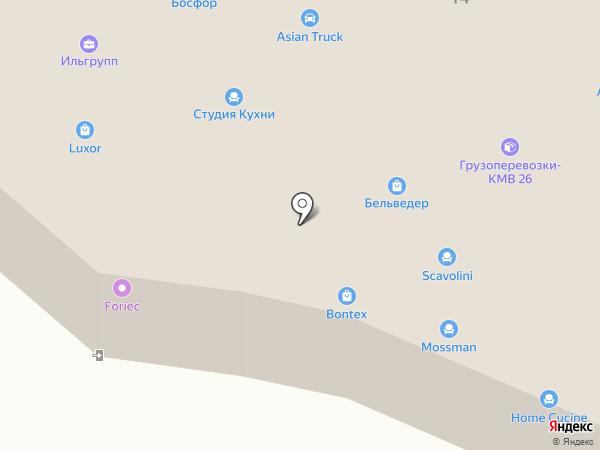 DECOR HITS на карте Пятигорска