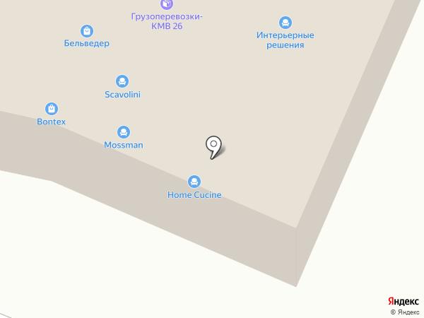 Кукуруза на карте Пятигорска