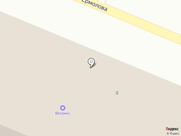 ТЕХНОРЯД на карте Пятигорска