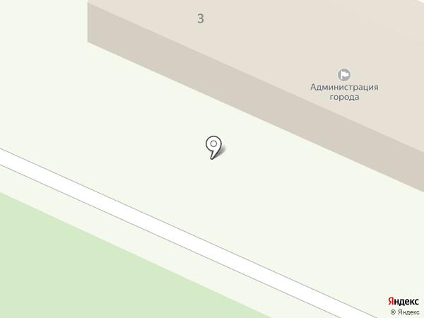 Спартак на карте Железноводска