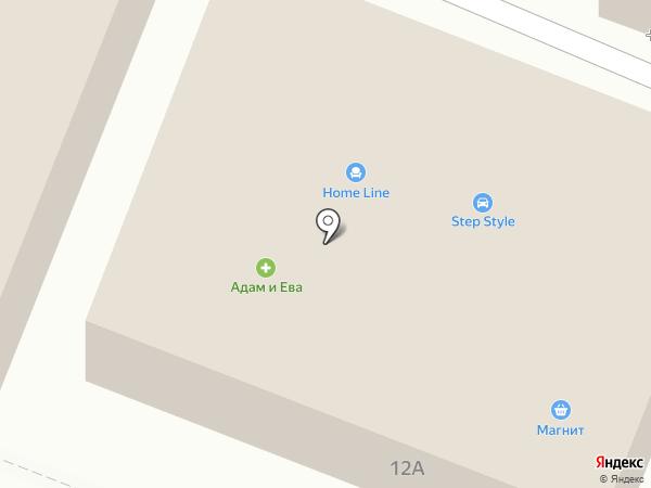 Элит на карте Пятигорска