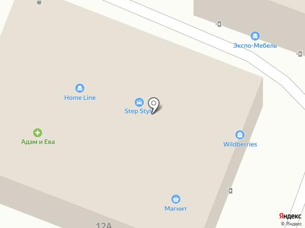 Дом мебели Арина на карте Пятигорска
