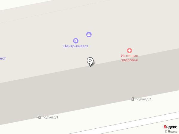 КБ Центр-инвест на карте Железноводска