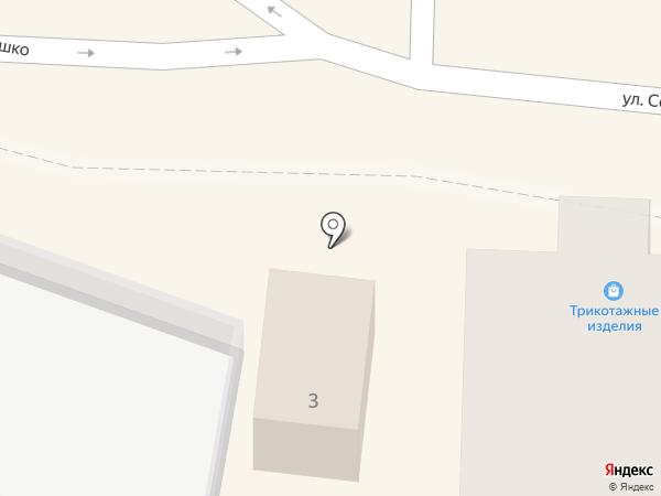 Магазин трикотажных изделий на карте Железноводска