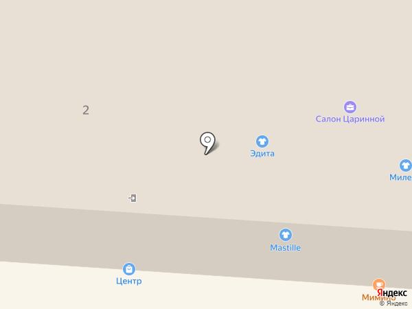 Горностай на карте Железноводска