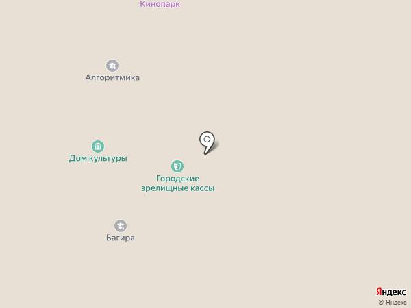 Бегемот на карте Железноводска
