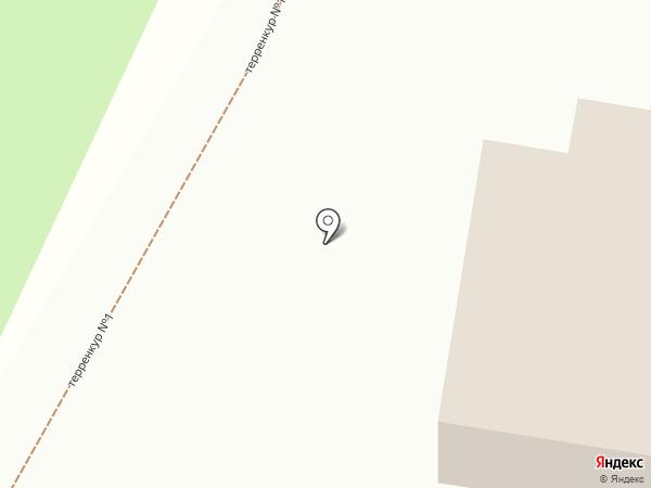 Серебряный рай на карте Железноводска