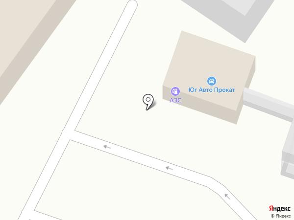 АЗС Лидер на карте Пятигорска