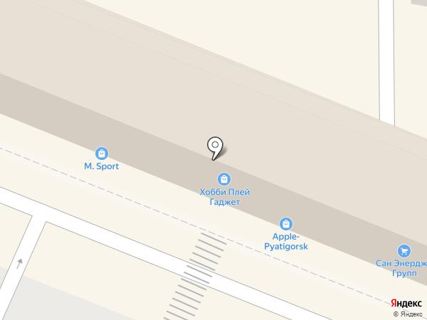 Магазин посуды на карте Пятигорска