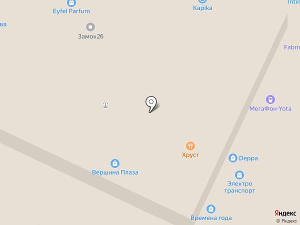 Deppa на карте Пятигорска