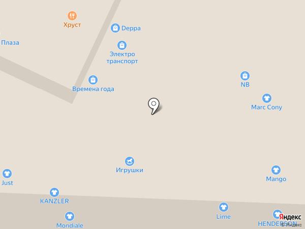 Mango на карте Пятигорска
