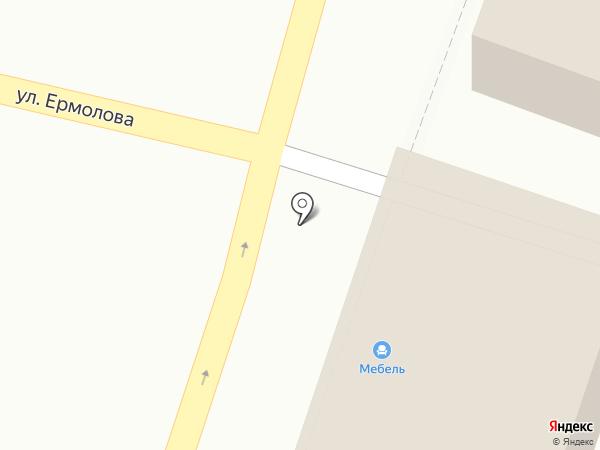 Мебельный салон на карте Пятигорска