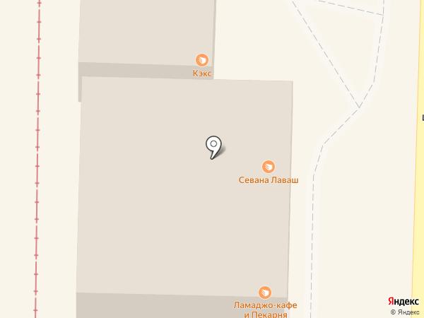 Хозстроймаркет на карте Пятигорска