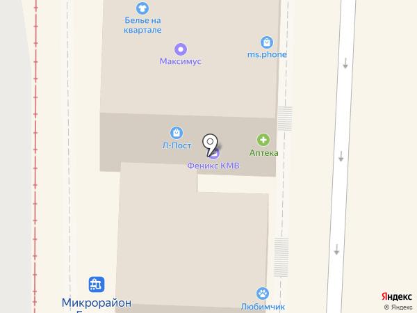 Любимчик на карте Пятигорска