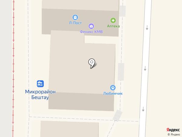 Вкусное место на карте Пятигорска