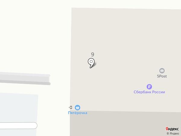 Едоша на карте Пятигорска