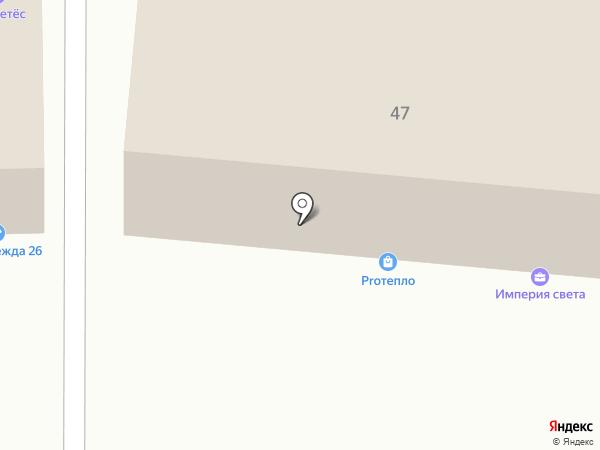 ЭНКОР на карте Пятигорска