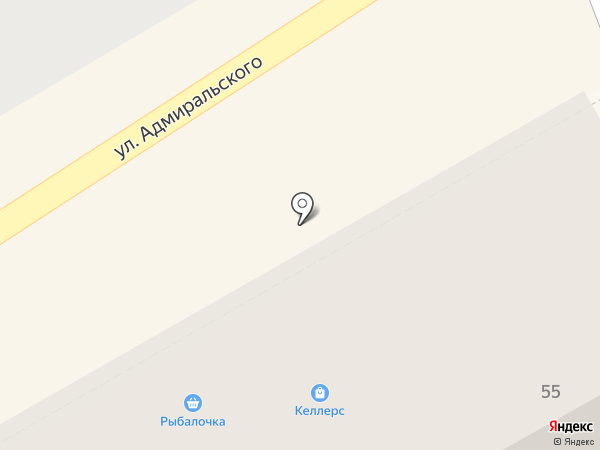 Келлерс на карте Пятигорска