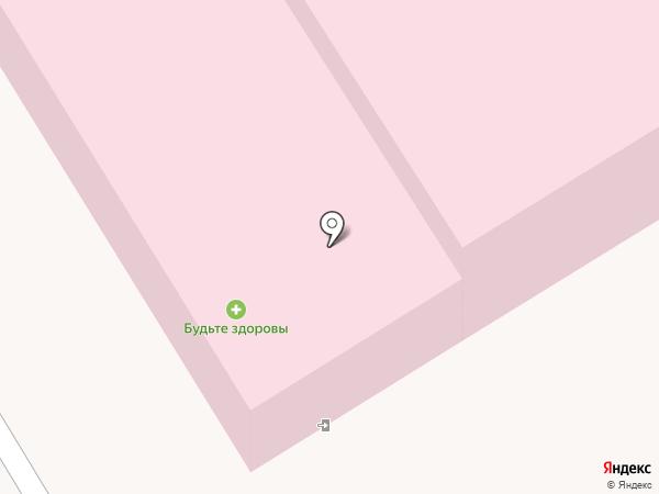 Городская больница №2 на карте Пятигорска