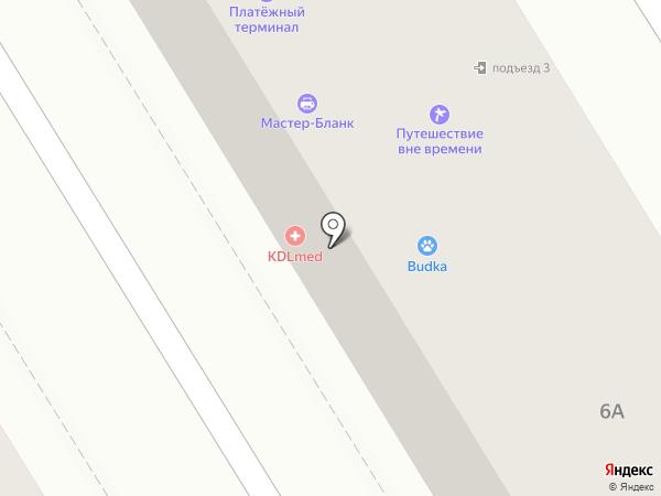 Фортуна на карте Пятигорска