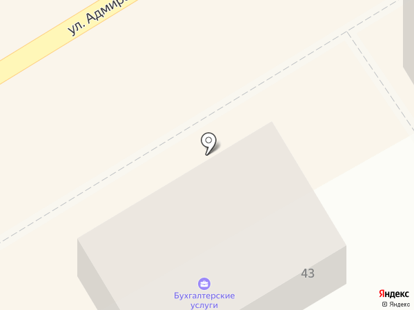 Компания бухгалтерских услуг на карте Пятигорска