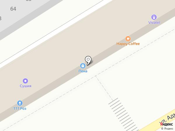 Мельник на карте Пятигорска