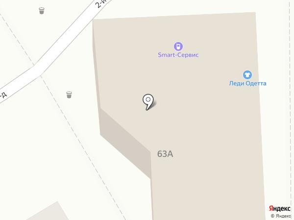 КМВ 26 на карте Пятигорска