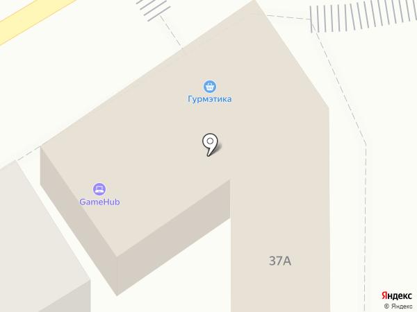 Понтос на карте Пятигорска