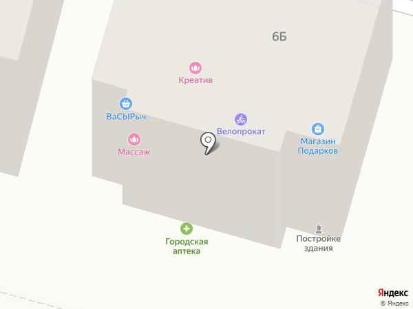 Маяк на карте Железноводска