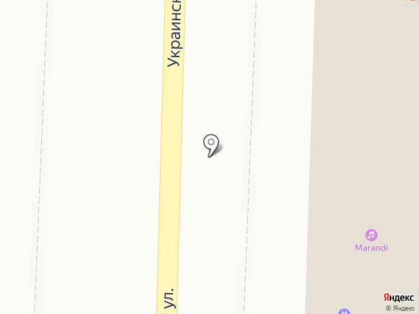 Hookah place на карте Пятигорска