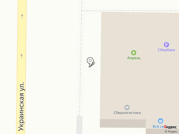 Георгий+В на карте Пятигорска