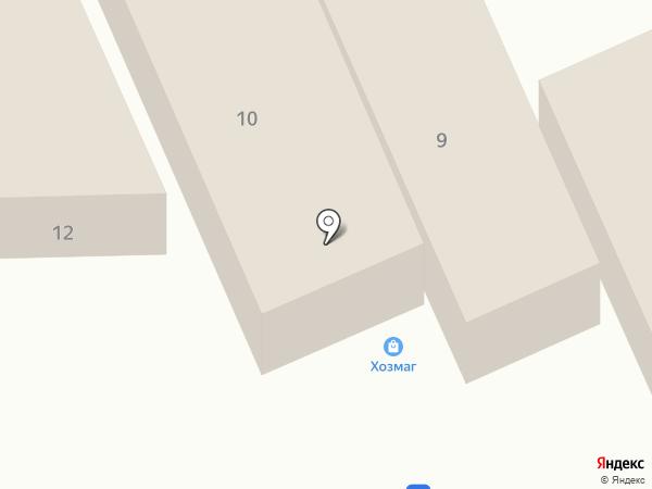 Тепло-ход на карте Пятигорска